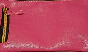 Pink and Gold clutch